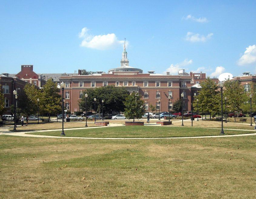 Howard_University_courtyard