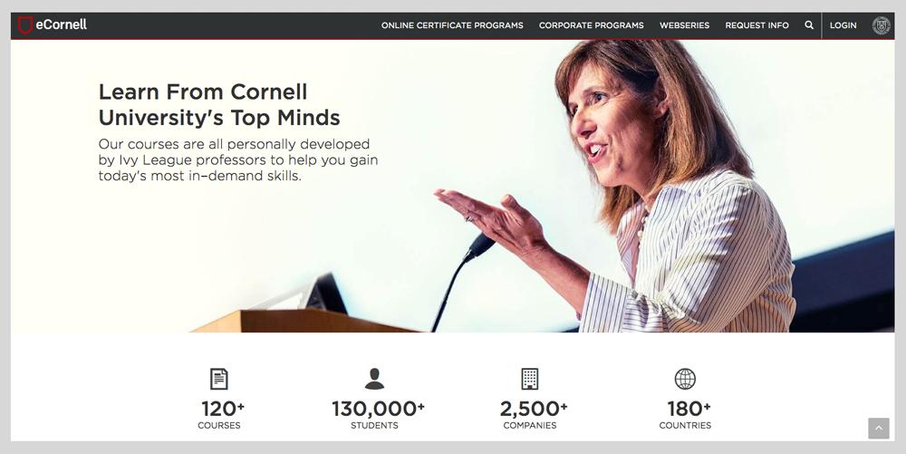 eCornell Website