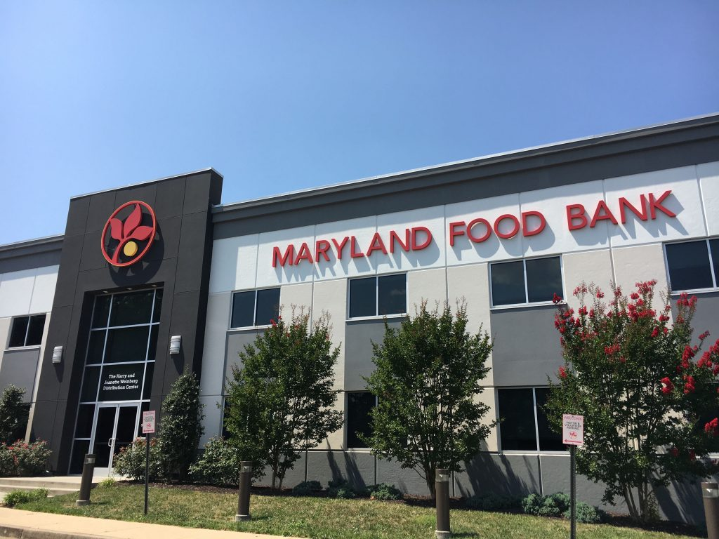 The Maryland Food Bank headquarters