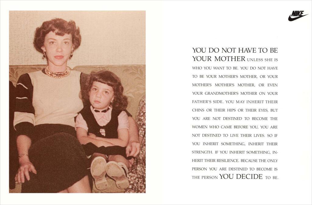 Nike Mothers Print Ad